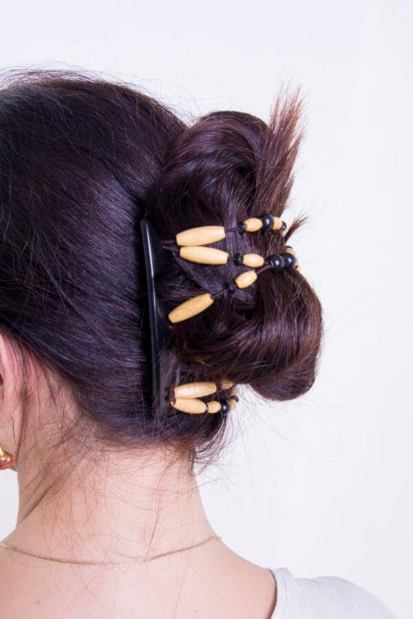 новые аксессуары для волос Beada 001 на черном толстом гребне