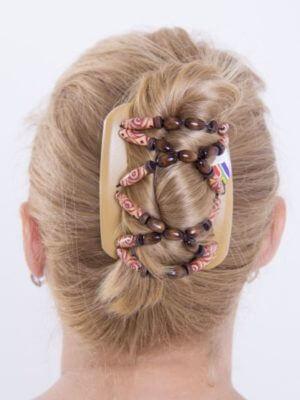 Аксессуары на волосы купить - African Butterfly Beada 006 бежевая