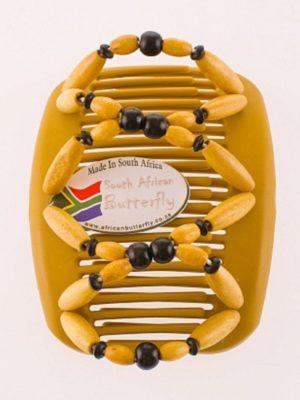 Заколки купить оптом - African Butterfly Beada 001 бежевая.
