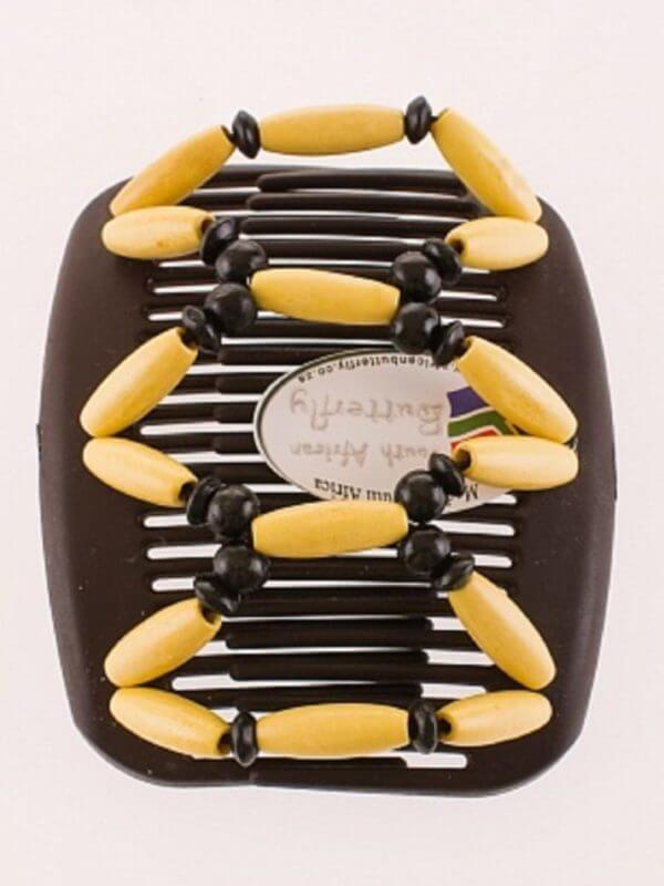 Заколки для волос киев купить African Butterfly Beada 002 коричневый