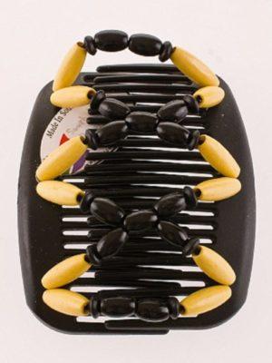 Украшения на голову African butterfly Beada003 на чёрном гребне.