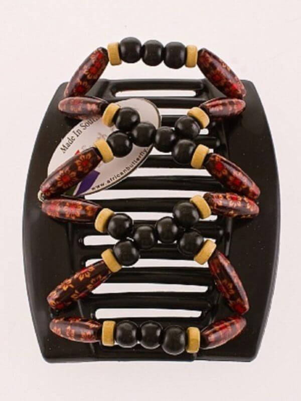 Аксессуары и украшения для волос African Butterfly Beada 004 для очень густых волос.