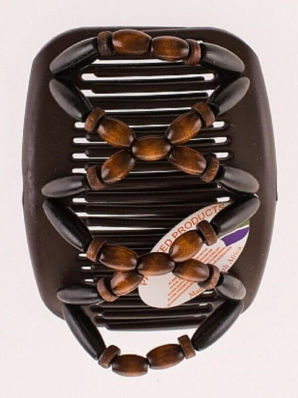 Украшение на голову купить African Butterfly Beada007 на коричневых гребнях