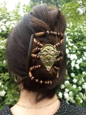 Елітні заколки для волосся African Butterfly BronzeAge
