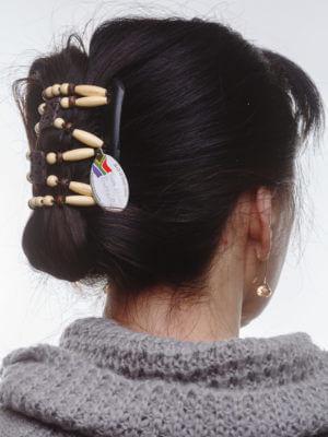 заколки для волос интернет магазин Dupla001черн_толст