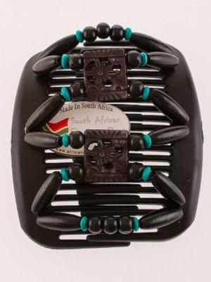 Красивые заколки для волос интернет магазин African Butterfly Dupla 002 черная