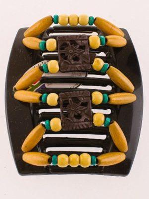 интернет магазин украшений для волос African Butterfly Dupla 006 черн толст
