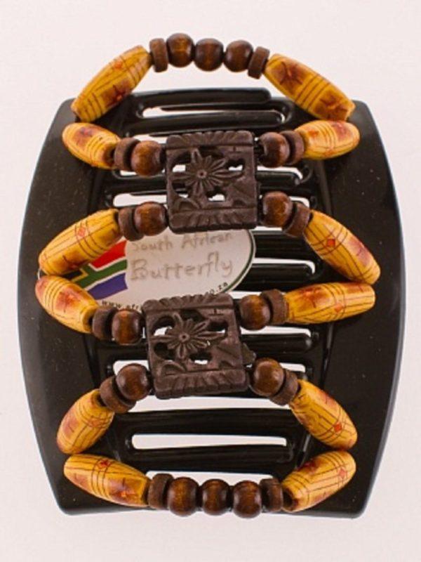 Заколку купить в Киеве African Butterfly Dupla 008 черн толст