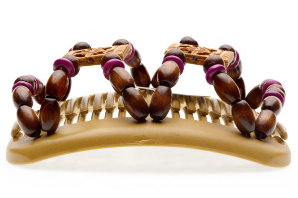 Купить украшение для волос African Butterfly Dupla 009 беж для блондинок