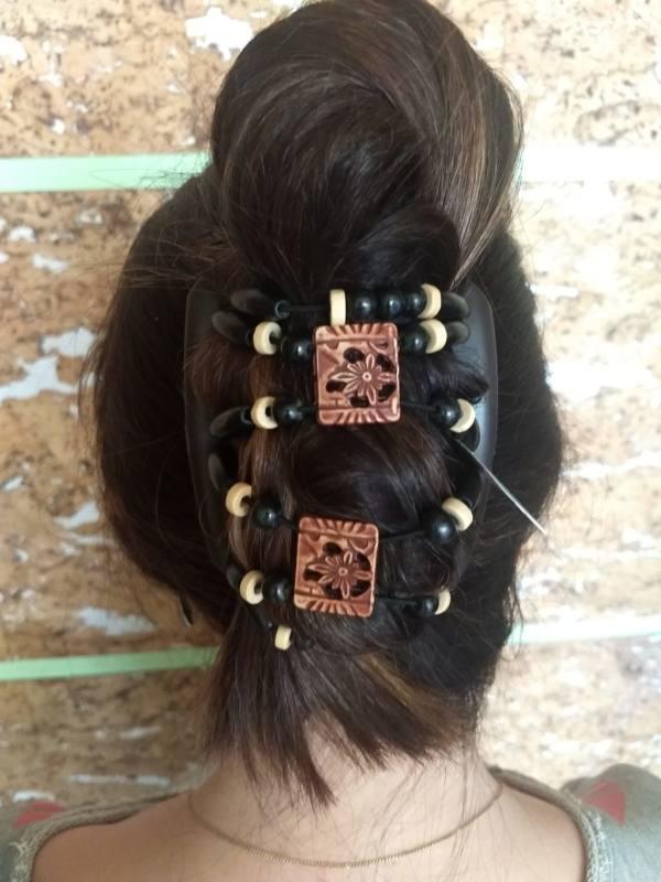 Украшения для волос купить Африканская бабочка Dupla 010 коричневая