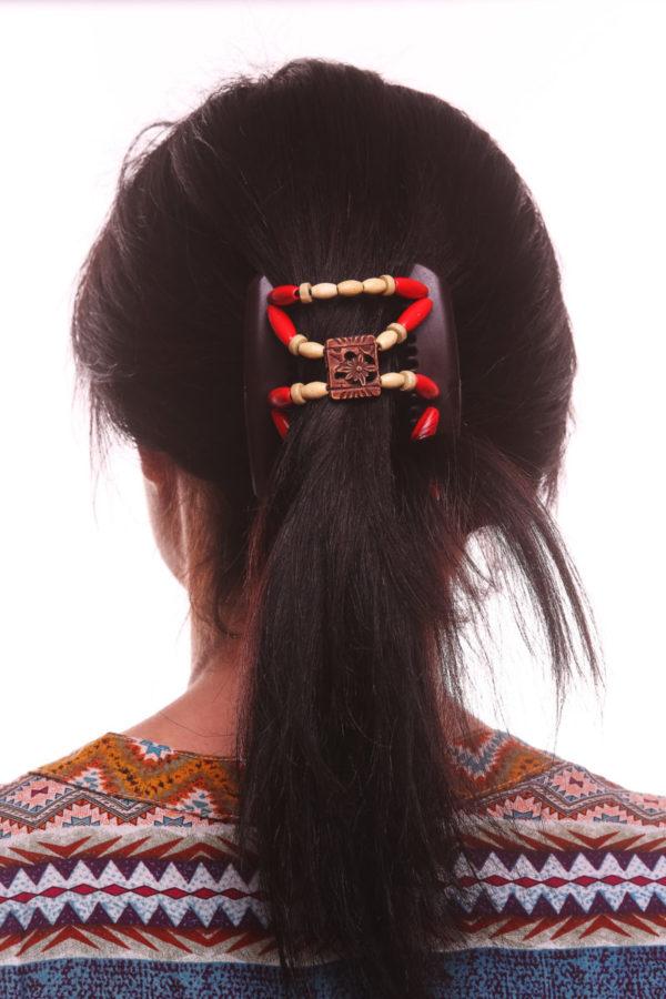 Красивые заколки для волос интернет магазин African Butterfly Dupla 011