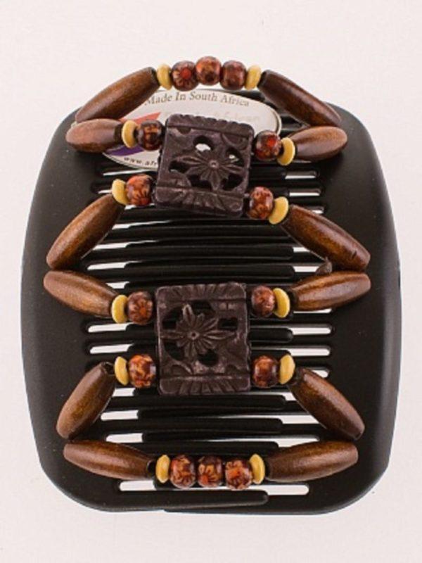 Купить украшения для волос African Butterfly Dupla 014 на черном гребне