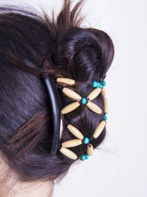 Аксессуары для волос купить African Butterfly Ndebele 007 для очень густых волос