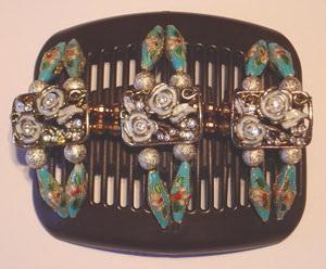 Заколки элитные Африканская бабочка diamante supreme