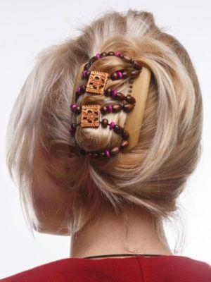 Купить украшение для волос заколку African Butterfly Dupla