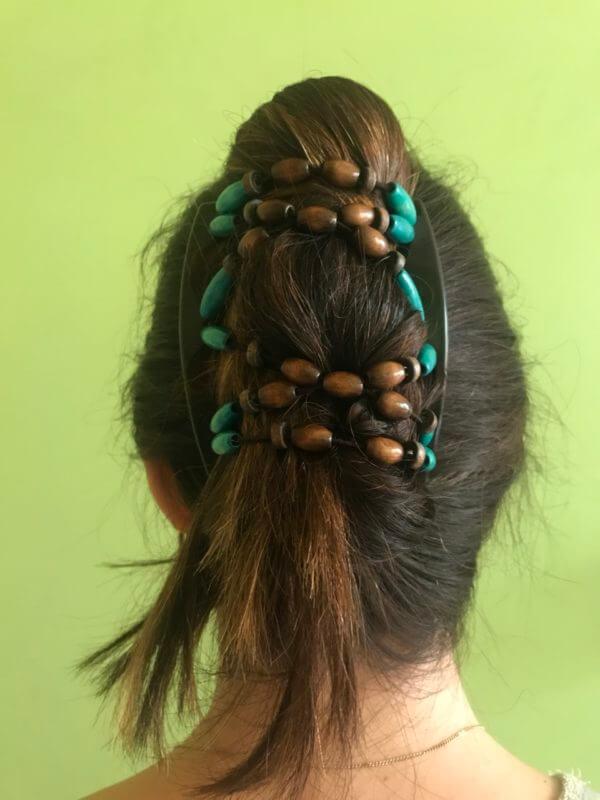 Украшения для волос купить в интернет магазине African Butterfly Beada 009