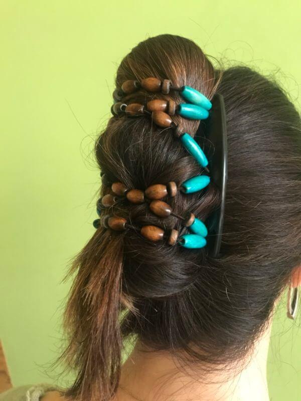 Заколки для волос киев купить African Butterfly Beada 009.