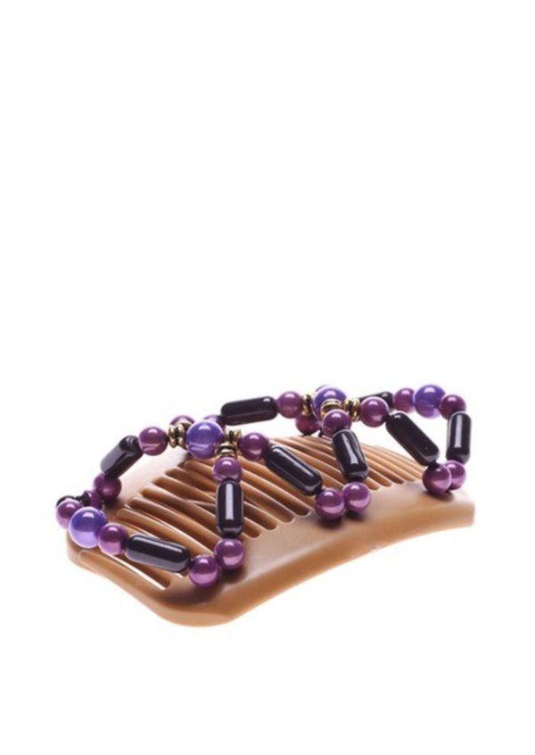 Купить заколки интернете African Butterfly Dalena 01 на бежевых гребнях