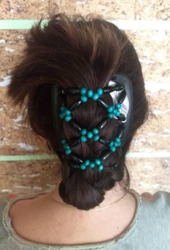 Заколка для волос African Butterfly Ndebele 003