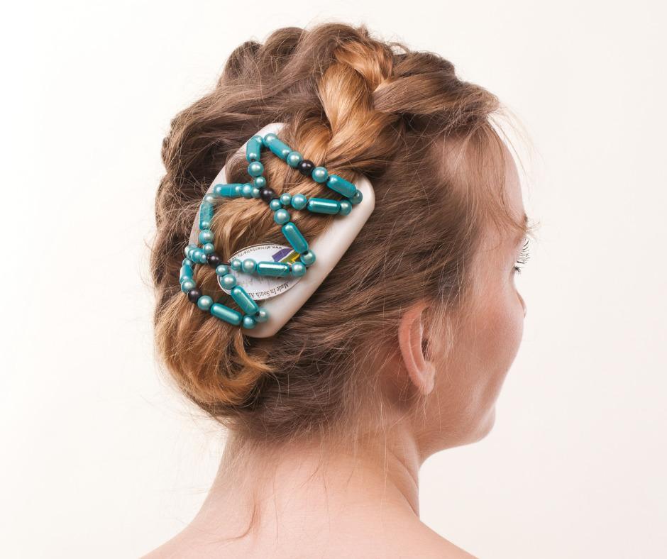 Купить заколку для волос на двух гребешках African Butterfly